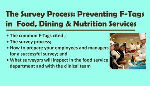 Preventing F-Tags in Food, Dining & Nutrition Services