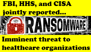 Ryuk Ransomware Information for Healthcare